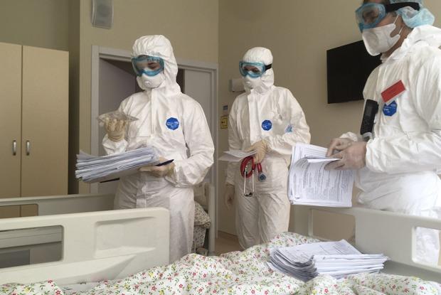 «Как ялечился откоронавируса вКоммунарке»