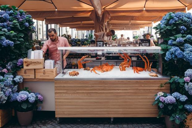 Ресторан Wine&Crab наНикольской