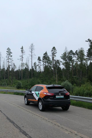 «Делимобиль» добавил маршрут изМосквы вПетербург