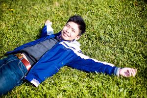 Люди в городе: Любительские фотосессии в парке