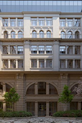 В2022году в«Зарядье» откроют пятизвездочный отель Raffles