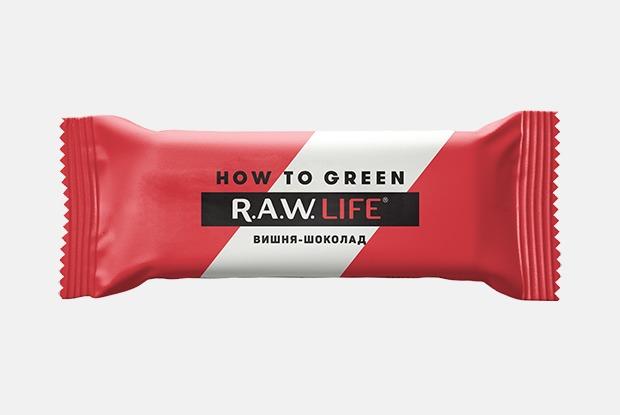 Новогодние батончики R.A.W Life &How ToGreen