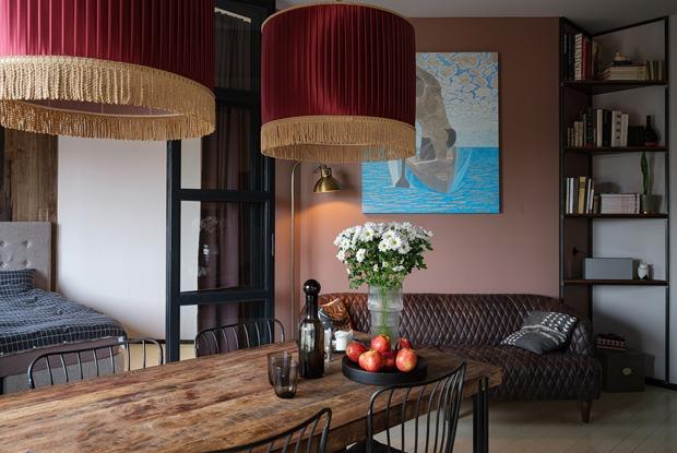 Квартира в ленинградском стиле, вкоторой живет преподаватель СПбГУ (Петербург)