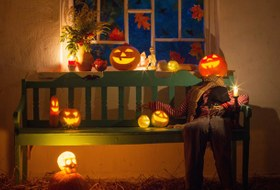 Кошмарный декор: Как украсить всё к Хеллоуину в последнюю минуту
