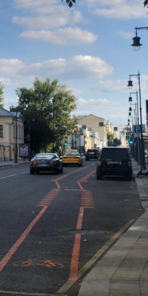 Вцентре Москвы появятся пять велополос. Назиму ихуберут