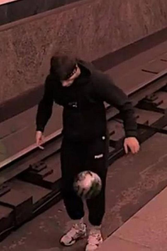 Петербуржцу, который играл в мяч на путях «Звенигородской», запретили пользоваться метро