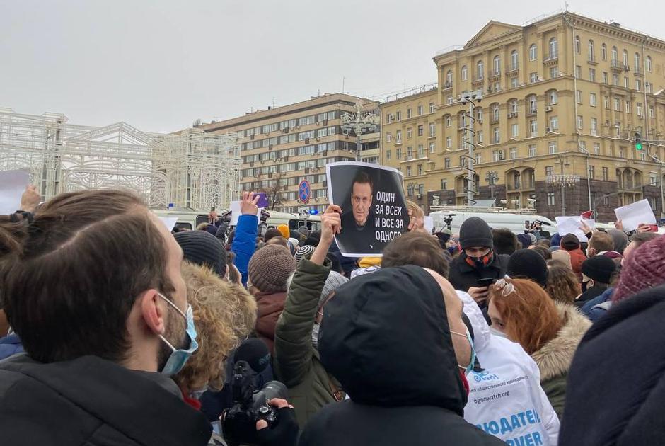 Митинги в поддержку Алексея Навального