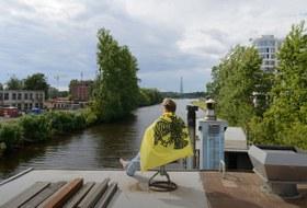 «У меня свой дом на воде вПетербурге»