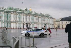 Как выглядит центр Петербурга перед протестной акцией, которую анонсировали сторонники Навального
