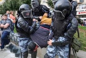 Как вМоскве задерживали людей наакции протеста 3августа