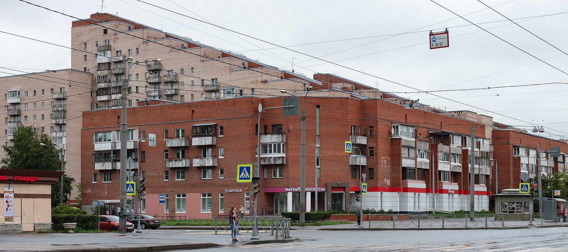 Я живу в «Змее Горыныче» на Науки (Петербург)