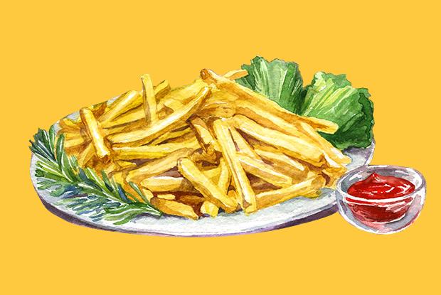 Как приготовить картошку фри, как в Макдоналдсе?