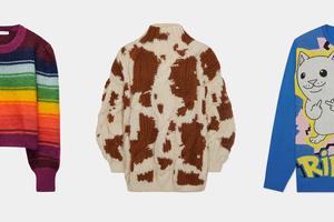 Холодает: Выбираем свитеры иводолазки наполгода вперед
