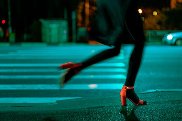 Ночная уличная фотография от Марины Вольской-Никитиной