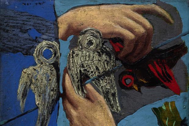 «Руки на птицах»: Что нужно знать о выставке Макса Эрнста в Эрмитаже
