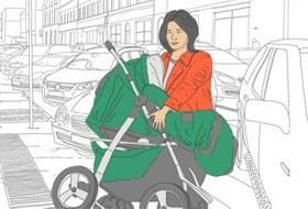 Понаехали тут: Мария Бахарева о машинах, тротуарах и колясках