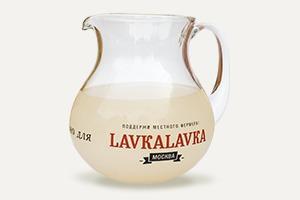 Белый квас изкафе LavkaLavka