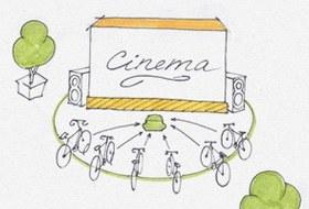 Идеи для города: Велосипедные кинотеатры вВеликобритании