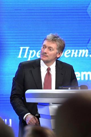 Дмитрий Песков— оречи Навального всуде и«думах» Путина