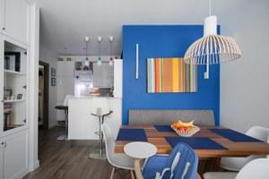 Трёхкомнатная квартира вскандинавском стиле наберегуозера