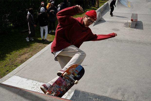 «Уличная кухня»: Как прошел первый скейт-контест сезона у Дворца молодежи