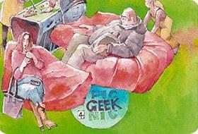 Клуб рисовальщиков: Geek Picnic