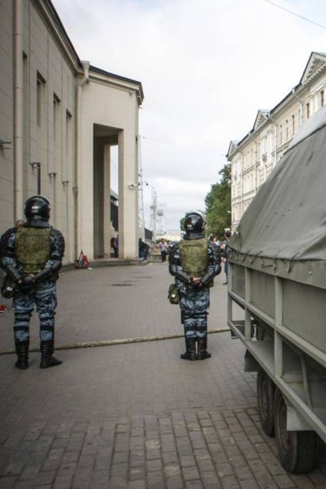 Наплощади Ленина хотели провести митинг вподдержку Навального. Акцию несогласовали из-за коронавируса