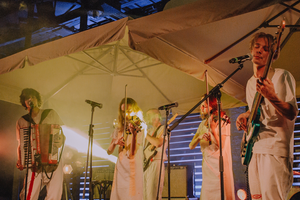 Как «Залпом» стали серьезнее нановом альбоме «Лес видит»: Мантры, фит сi61 и фольклор
