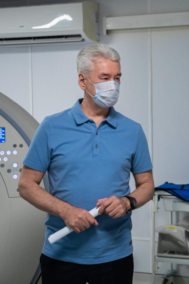 Собянин связал повторные случаи заболевания COVID-19синдийским штаммом коронавируса