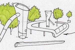 Идеи для города: Детская площадка из крыльев ветряной мельницы вРоттердаме
