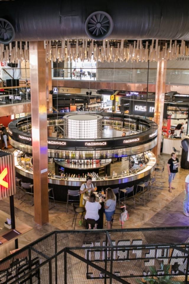 Eat Market открыл свой самый большой фуд-холл напроспекте Вернадского