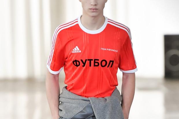 Совместная коллекция adidas Football иГоши Рубчинского