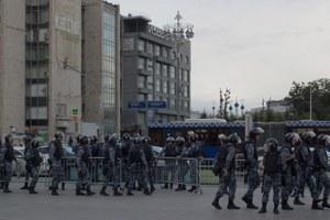 Митинг полиции: Как силовики подавляли акцию наБульварном кольце
