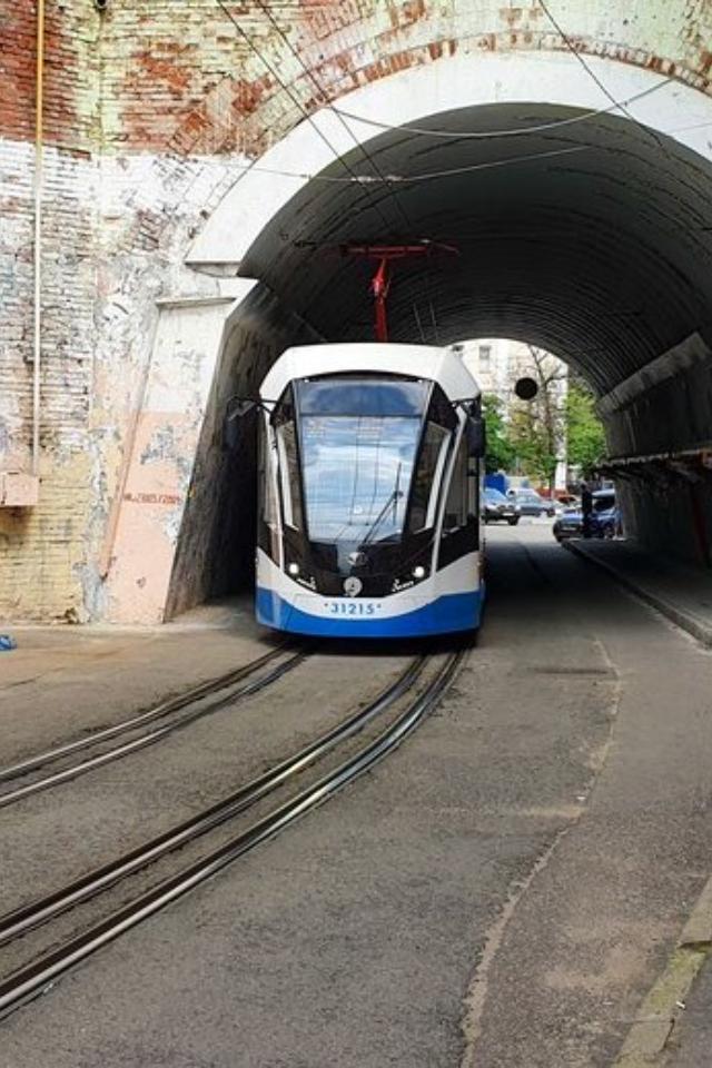Московские власти начнут тестировать беспилотный трамвай