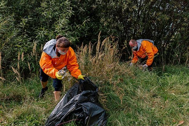 Как прошла волонтерская экологическая акция на Пермяковском озере?