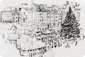 Клуб рисовальщиков: Новогодние каникулы