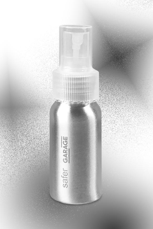 Мятный антисептик для рук в алюминиевом флаконе отSafer и«Гаража»