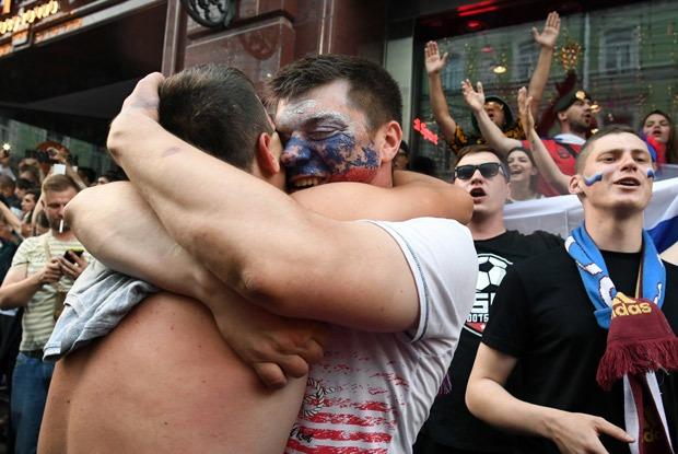 Что творилось в Москве после победы сборной России над испанцами