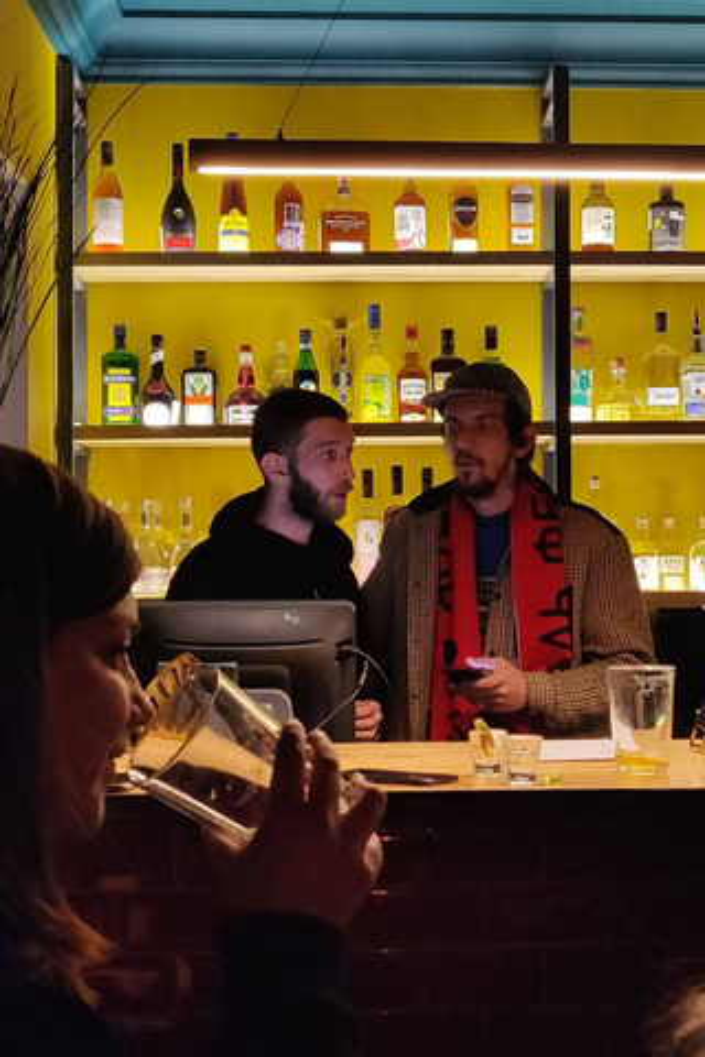 В Москве 24 марта откроется бар основателя фестиваля «Боль» Степана Казарьяна