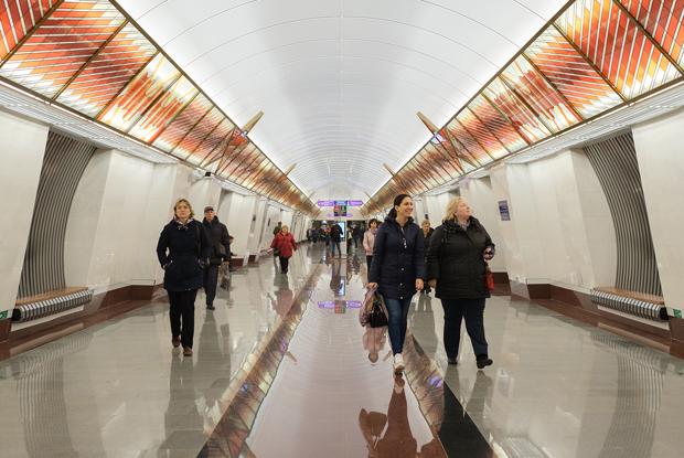 Как выглядят новые станции Фрунзенского радиуса метро