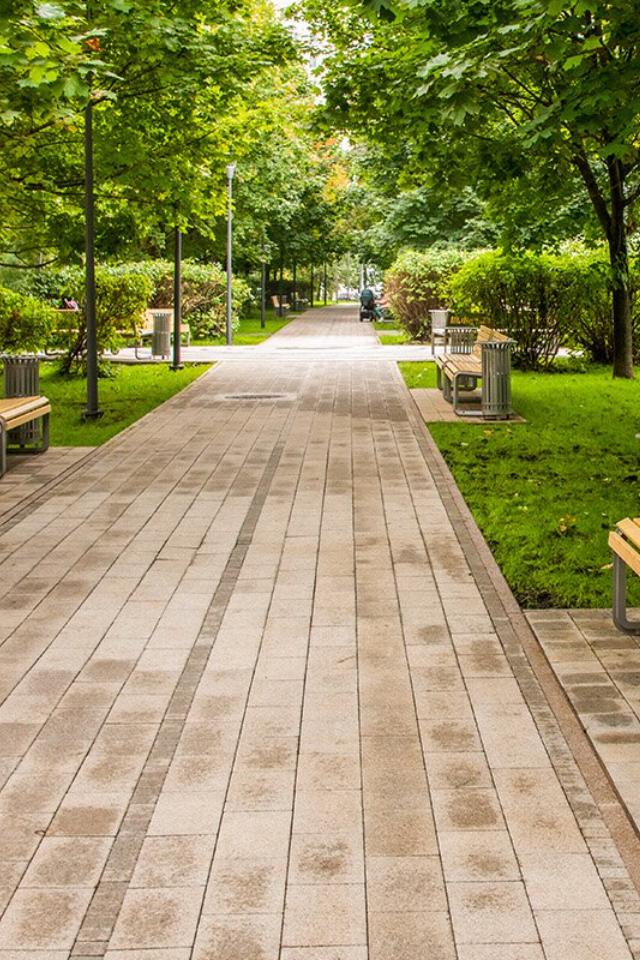 ВМоскве благоустроили парк Летчиков-испытателей