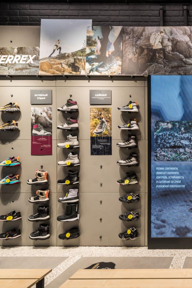 В«Метрополисе» открылся первый флагманский магазин adidas Terrex
