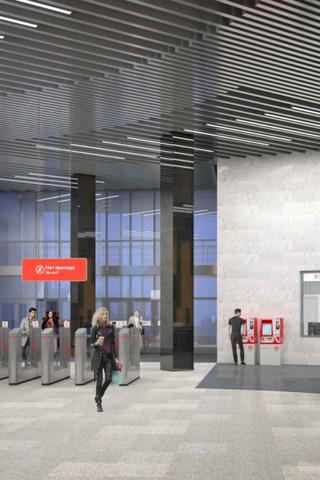 Как будет выглядеть станция метро «Мамыри» свестибюлем-лепестком