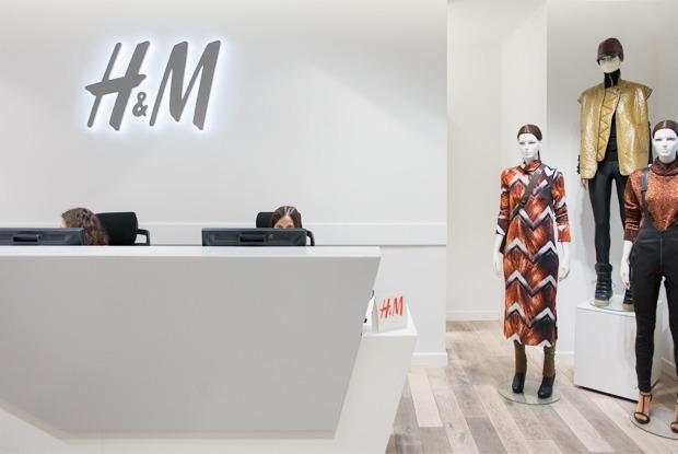 Как работают вH&M