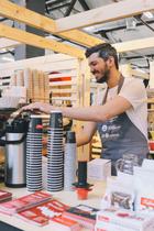 С16по18апреля наТрехгорной мануфактуре пройдет Moscow Coffee Festival