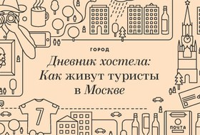 Дневник хостела: Как живут туристы в Москве