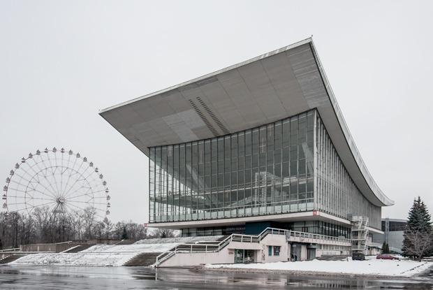 Архитектор Андрей Стенюшкин— омонреальском павильоне наВДНХ