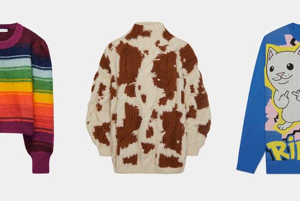 Холодает: Выбираем свитеры и водолазки на полгода вперед