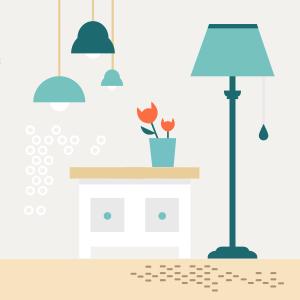 Как правильно организовать освещение вбольшой комнате